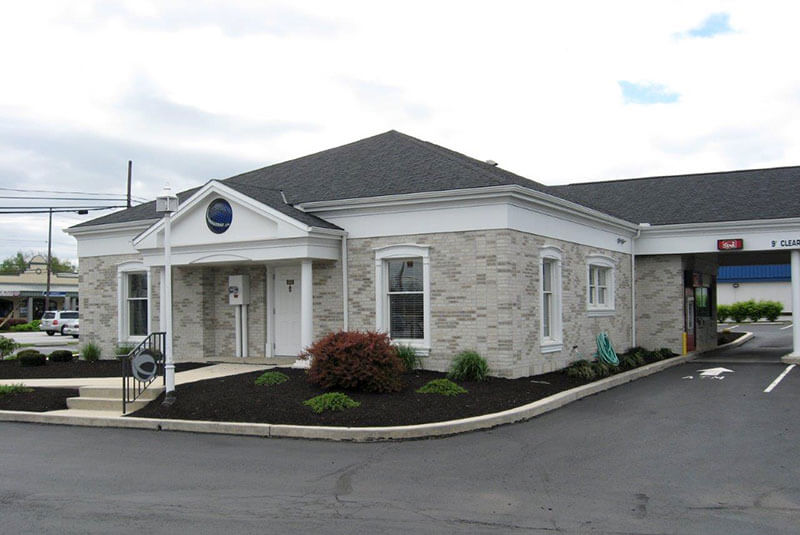 After-brick colors are an exact match to the flagship Centric bank over 8 miles away. Customers now recognize the bank immediately on sight due to consistent branding.