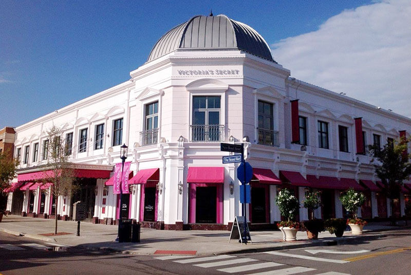 Victoria's Secret Flagship Store Custom Color for Cast Stone