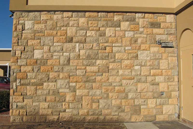 Fixing Scratched Stone Veneer Color