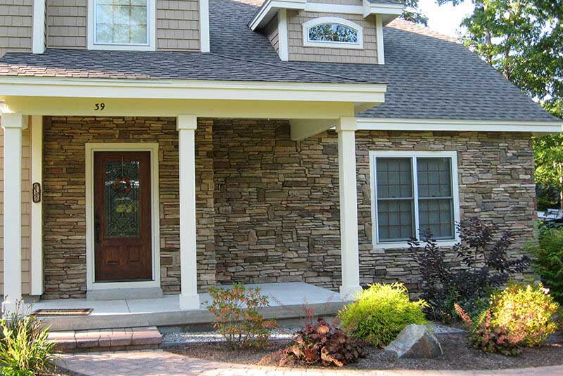 Matching Veneer Color – Residential Project