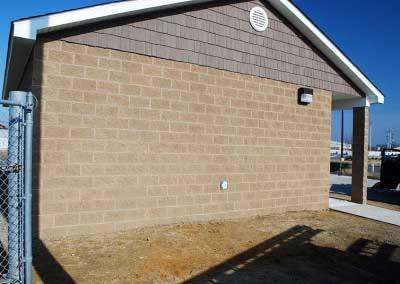 Fixing Acid Burns on Concrete Block