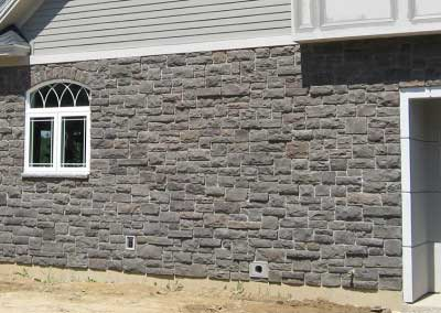 After: Stone colors are all corrected to match the correct colors the homeowner expected. The results are maintenance free and as natural as any unstained stone.