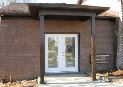 Before- matching discontinued brick is our area of expertise.