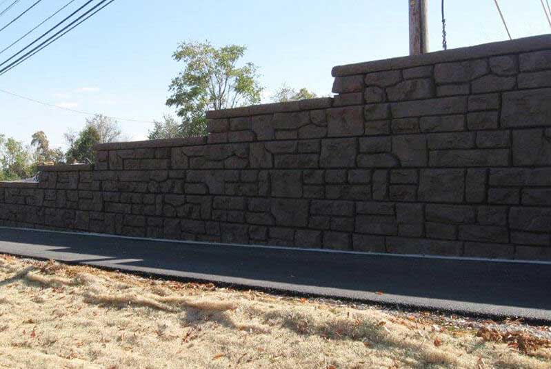 Retaining Wall Change