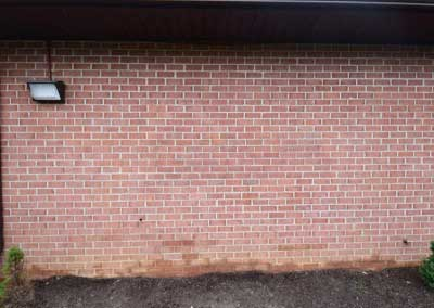 Graffiti Removal for Brick Medical Center