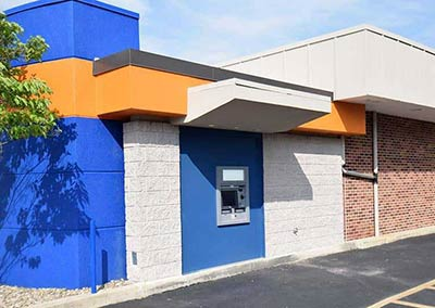 Mid-Penn Bank Custom Color for Block and Fixing Efflorescence on Block