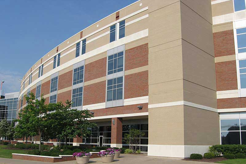 Fixing Cast Stone Color Problems on A Medical Center