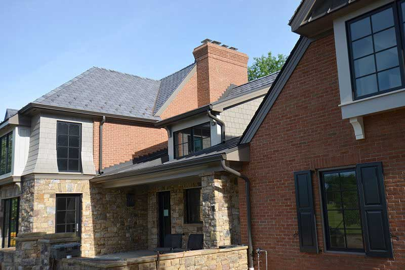 Maryland Home Stained Mortar Project