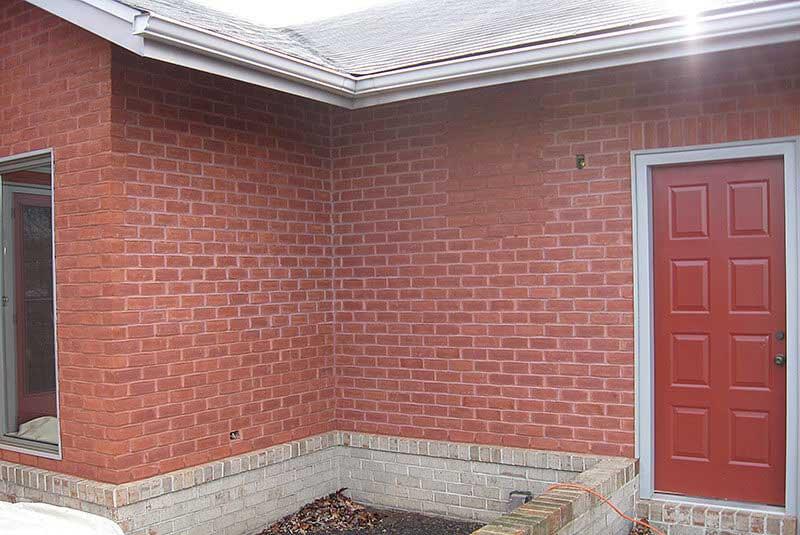 Repairing brick and mortar