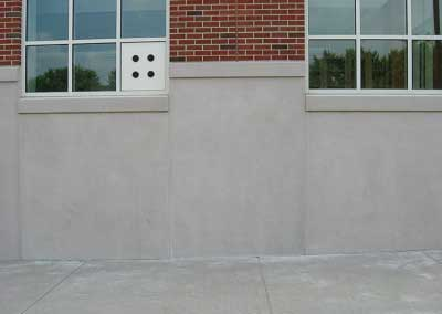 Susquehanna University Correcting Mismatched Precast Color
