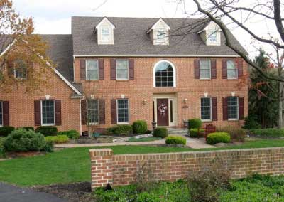 Matching Brick and Mortar on a Remodeled Home