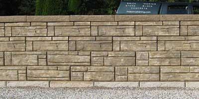 Retaining Wall Masonry Staining Services Exact Match