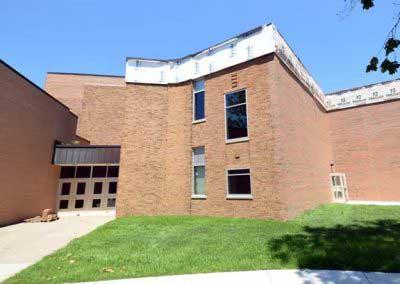 School Auditorium Brick and Mortar Color Update