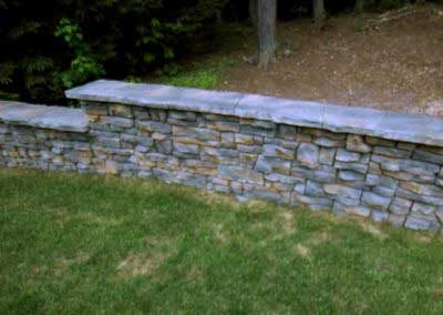 Mount Mansfield Summit Gray on a residential wall project