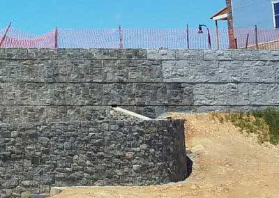 During process of transforming Stone Strong Wall