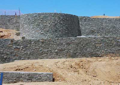 Natural Rock Wall that our process is aimed to look like