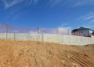 Before Stone Strong Wall Is Installed