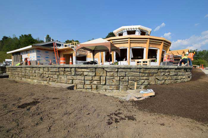Redi-Rock Ledgestone Is Matched to Natural Stone: DOT Project