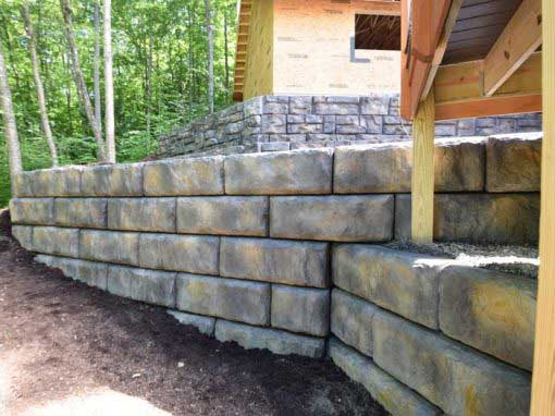 How To Match A New Redi-Rock Ledgestone Wall to An Existing Redi-Rock Wall