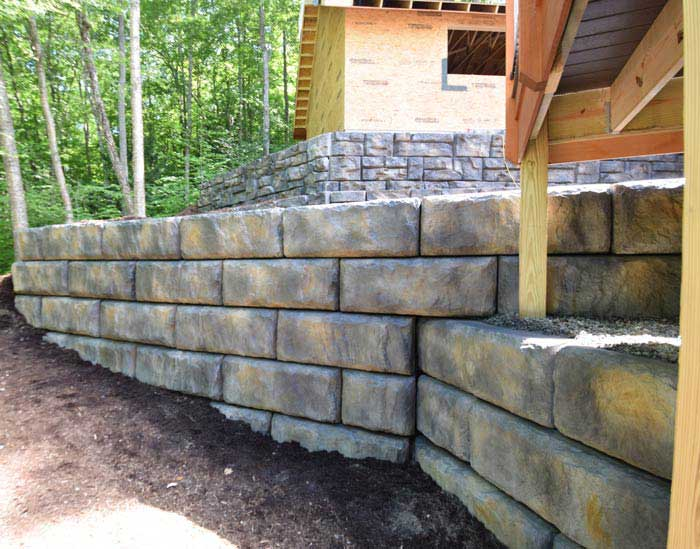 How To Match A New Redi-Rock Wall to An Existing Redi-Rock Wall