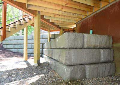 Before Matching A New Redi-Rock Wall to An Existing Redi-Rock Wall