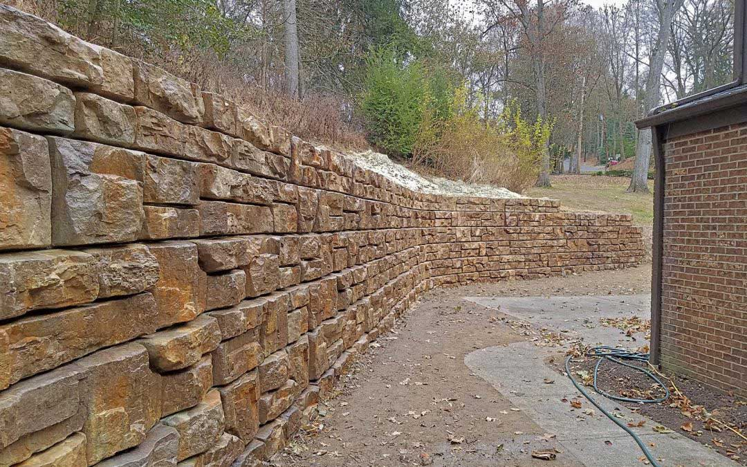 How to Make Residential Redi-Rock Walls Blend in to Nature