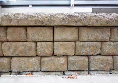 Redi-Rock Walls at Gillette Stadium