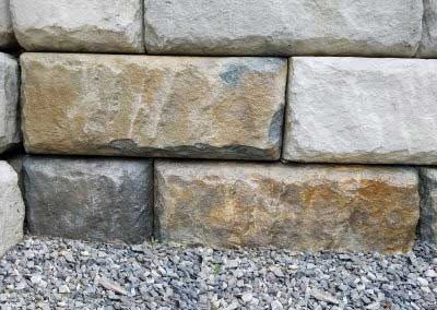 10 Sample Detail for Redi-Rock Limestone