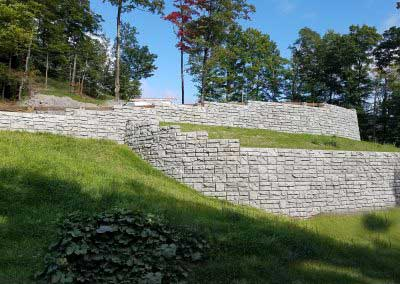 17-Before-Redi-Rock-Ledgestone-wall-awaits-completion-with-The-Most-Natural-Colors-on-Earth-exclusively-by-Exact-Match